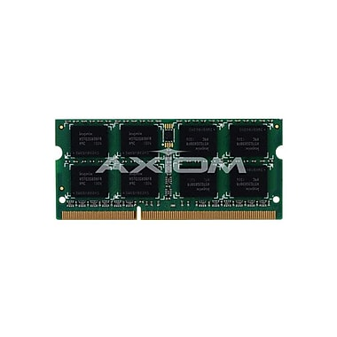 Axiom 4GB DDR3 SDRAM 1333MHz (PC3 10600) 204-Pin SoDIMM (MB1333/4G-AX) for Apple iMac