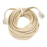 Belkin Pro Series 15' RJ-11 Male to Male Phone Cable, Ivory