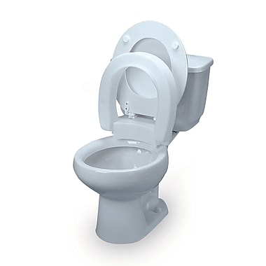 Bios Hinged Elevated Toilet Seat Standard