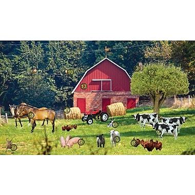 Bios Gel Foam Picture Frame Farm Scene