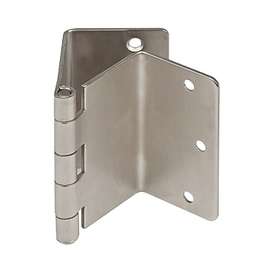Bios Door Hinges Expandable, Satin Nickel