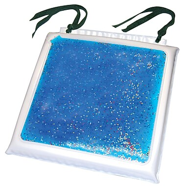 Bios Starry Night Gel-Foam Cushion, White Vinyl