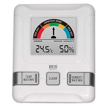 Bios 258BC Indoor Hygrometer with Bios Comfort Scale