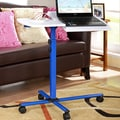 InRoom Designs Laptop Cart Stand; Blue