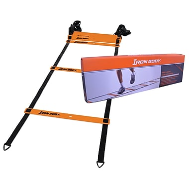Iron Body Fitness Agility/Speed Ladder, 4.3m