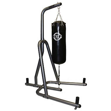"Iron Body Fitness, Heavy Bag Stand, 55"" x 68"" x 89"" high"