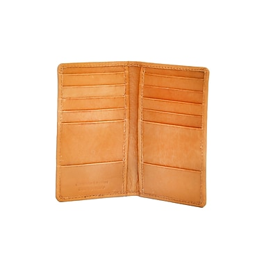 Ashlin® Leather Colchester Slim Card Caddy, British Tan
