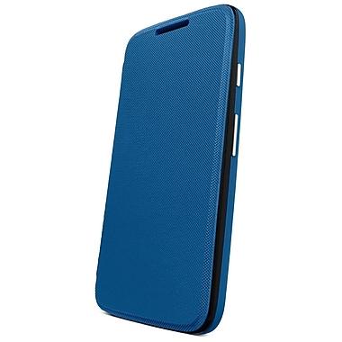 Motorola Flip Shell for Moto G, Retail Packaging, Royal Blue