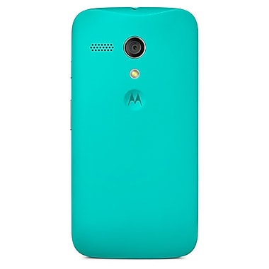 Motorola Shell for Moto G, Retail Packaging, Turquoise