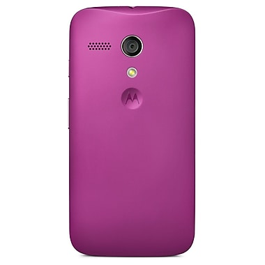 Motorola Shell for Moto G, Retail Packaging, Violet