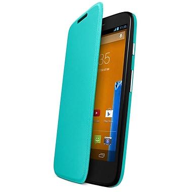 Motorola Flip Shell for Moto G, Retail Packaging, Turquoise