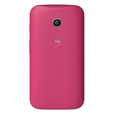 Motorola ELX Colour Series Case for Moto E, Rasberry