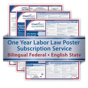 ComplyRight One Year State and Federal Poster Service, New Hampshire -- Bilingual Federal and English State Posters