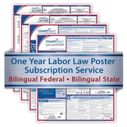 ComplyRight One Year State and Federal Poster Service, Florida -- Bilingual Federal and Bilingual State Posters