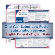 ComplyRight One Year State and Federal Poster Service, North Carolina -- English Federal and English State Posters