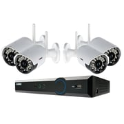 Lorex 4 Channel Cloud Connect DVR; 500GB Pre-installed HDD and 4 Wireless Security Cameras