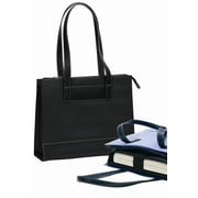 Bellino Vintage Tribeca Tote Bag; Black