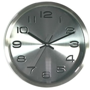 dCOR design Telechron 12'' Signature Wall Clock