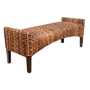 BirdRock Home Seagrass Entryway Bench