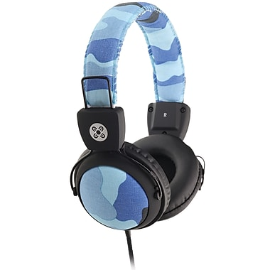 Moki ACCHPCAMB Camo Headphones with in-Line Microphone and Controls