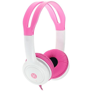Moki ACCHPKP Volume Limited Headphones for Kids, Pink