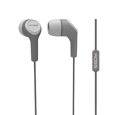Koss Keb15iig Earbud With Microphone, Grey