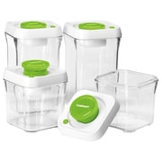 Conair® Cuisinart® 8 Piece Food Storage Containers, Green