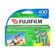 Fujifilm Superia X-TRA ISO 400 35 mm Color Film, 4/Pack