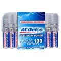 PowerMax ACDelco™ AC061 AAA Alkaline Recloseable Battery Pack, 100/Pack