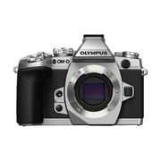 "Olympus OM-D E-M1 16.3MP 3"" Touchscreen Mirrorless Camera, Silver"