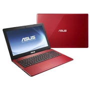 "Refurbished ASUS 15.6"" Core i3 4GB DDR3 RAM Notebook Windows 8, Red"