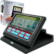 Trademark Poker™ 7in. x 9in. x 2 1/2in. Portable 7-in-1 Touchscreen Video Poker, Black/White