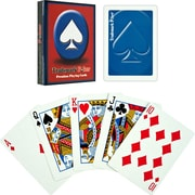 Trademark Poker™ Premium Poker Size Playing Cards, Blue
