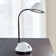 Trademark Lavish Home 3W Bright Energy Saving LED Desk Lamp, White