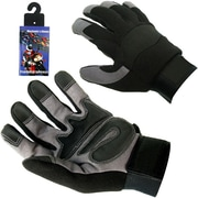 Trademark High Performance Spandex Mechanic Glove With Velcro, XL