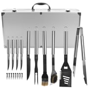 Trademark Chef Buddy™ 19 Piece Heavy Duty BBQ Set With Case