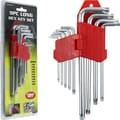 Trademark Stalwart™ 9 Piece Long TORX Key Set