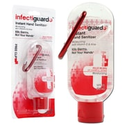 Trademark Infectiguard® Hand Sanitizer With Carabiner, 1.8 Oz.