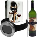 Trademark Wine Bottle Thermometer With Digital Display