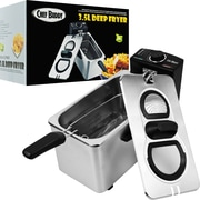 Trademark Chef Buddy™ Stainless Steel Electric Deep Fryer, 3.5 Liter