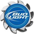 Trademark Bud Light® Spinner Card Cover, Silver