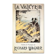 Trademark Richard Wagner Poster of the Valkyrie Gallery-Wrapped Canvas Art, 16 x 24