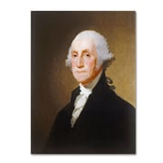 "Trademark Gilbert Stuart ""George Washington 1821"" Gallery-Wrapped Canvas Art, 18"" x 24"""