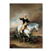 "Trademark John Faed ""Portrait of George Washington"" Gallery-Wrapped Canvas Art, 24"" x 32"""