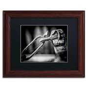 Trademark Erik Brede I Got You Babe Art, Black Matte W/Wood Frame, 11 x 14