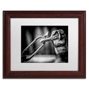 Trademark Erik Brede I Got You Babe Art, White Matte W/Wood Frame, 11 x 14