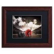 """Trademark Erik Brede """"Tango in Paris"""" Art, Black Matte W/Wood Frame, 11"""" x 14"""""""