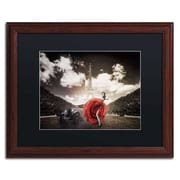 "Trademark Erik Brede ""Tango in Paris"" Art, Black Matte W/Wood Frame, 16"" x 20"""