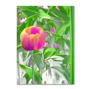 Trademark Kathie McCurdy Hot Tropic Gallery-Wrapped Canvas Art, 24 x 32