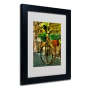 "Trademark Lois Bryan ""Still Useful"" Art, White Matte With Black Frame, 11"" x 14"""